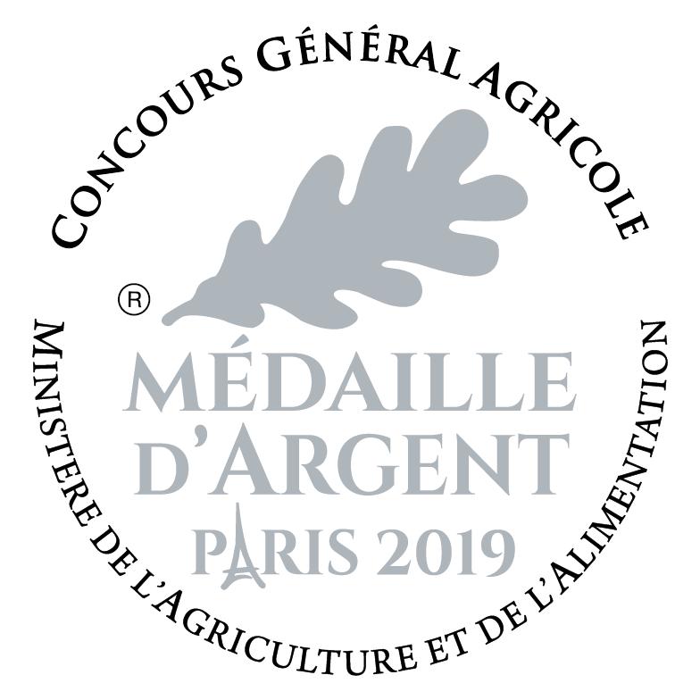 Médaille Paris 2019